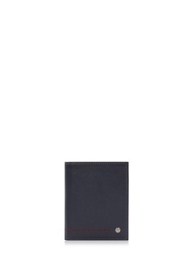 Cengiz Pakel 13643 Deri Küçük Boy Çift Renk Detaylı Erkek Cüzdan Renkli